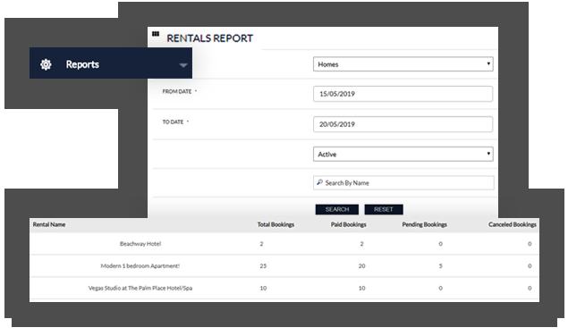 Rental Admin Reports