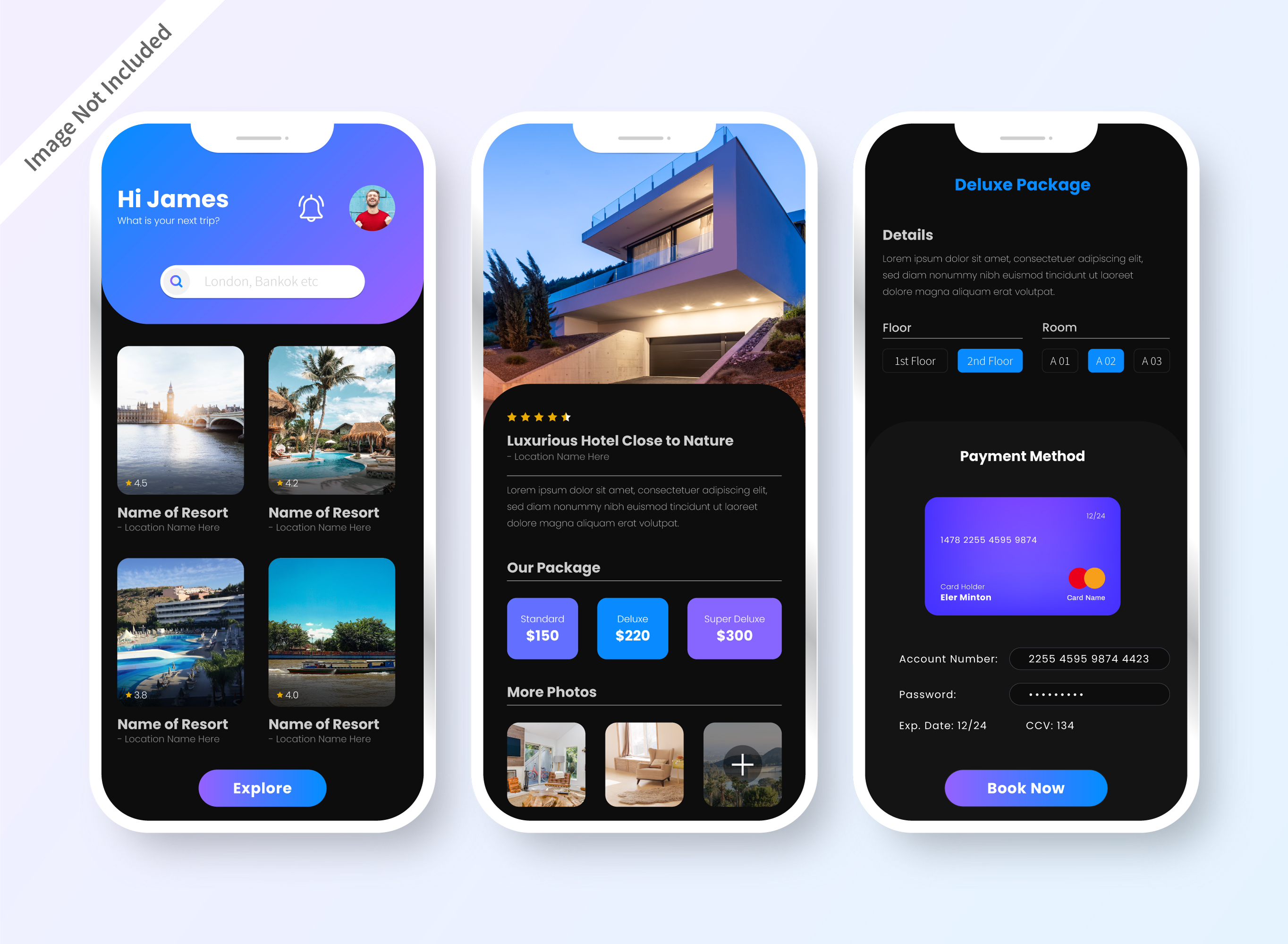 Features of Guest-Host app Homestaydnn - Airbnb clone