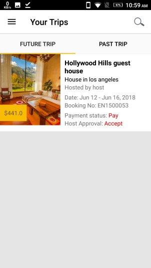 Airbnb Clone Mobile App | HomestayDNN